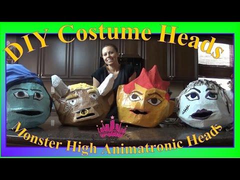 Monster High| DIY Costume Character Heads - Creative Princess