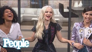 Sofia Carson, Dove Cameron, China Anne McClain Talk Set Stories, Dating & More | People NOW | People