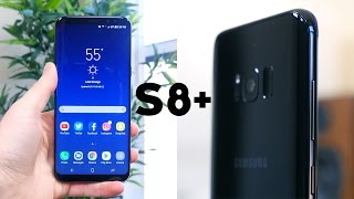 Samsung Galaxy S8+ Unboxing and First Impressions
