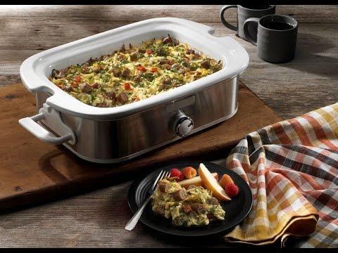 Recipe: Slow Cooker Overnight Breakfast Casserole