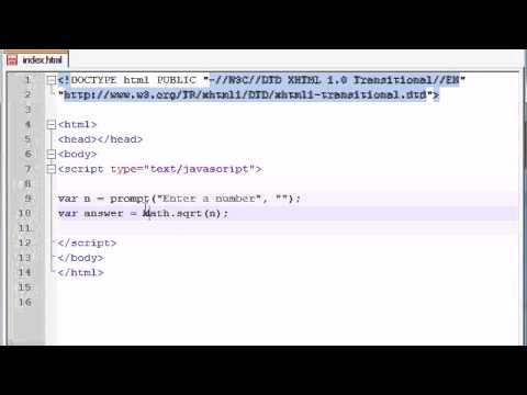 Beginner JavaScript Tutorial - 36 - Math Objects