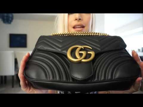 Gucci marmont medium shoulder bag