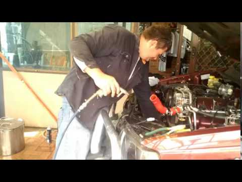 How to back flush your radiator and engine at home with minimal tools