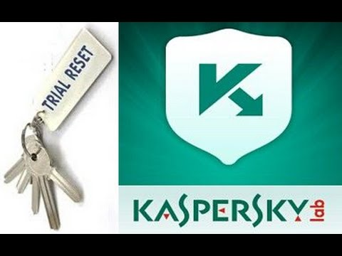 How to Reset Kaspersky 2017 30 days activation trial Version