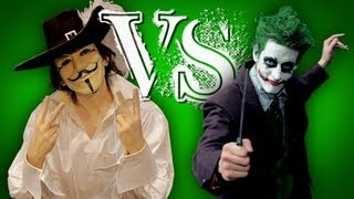 ERB Fanmade - Behind the Scenes - Guy Fawkes vs The Joker