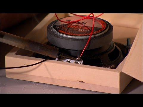 Make your own mini boom box