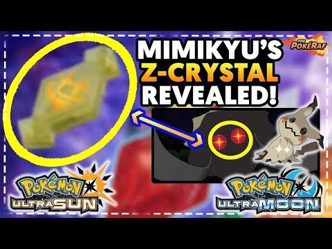 MIMIKYU Z-MOVE REVEALED! MIMIKUM Z CONFIRMED! - Pokémon Ultra Sun and Ultra Moon