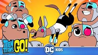 Teen Titans Go! | Adorable Cyborg | DC Kids