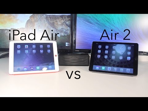 iPad Air 2 vs iPad Air - Speed and Benchmarks