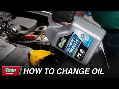 How To: Change Your Vehicle's Motor Oil