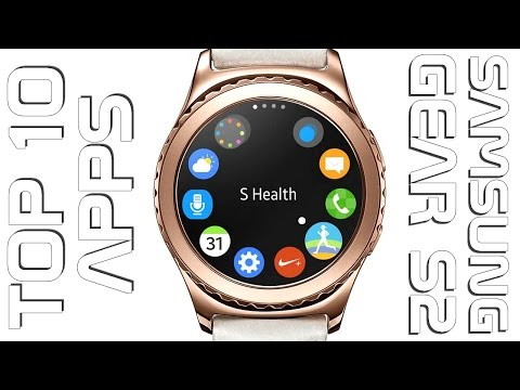 TOP 10 Samsung Gear S2 apps 2016