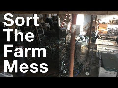 Sorting Through The Mess On Farm