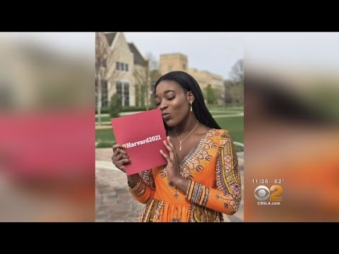 Teen Takes Harvard Acceptance Letter To Prom