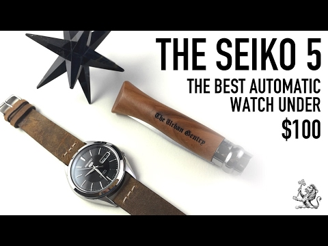 The Best Automatic Watch Under $100 - A Perfect Place To Start - The Iconic Seiko 5 - SNKL23 Review