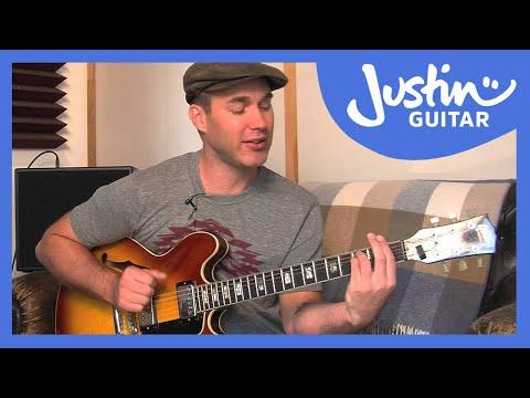 Secondary Dominant Chords - How to Play Jazz Guitar - JustinGuitar [JA-032]