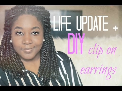 Danie O is Back! | I Broke My Ankle | DIY Clip on Pearl Earrings