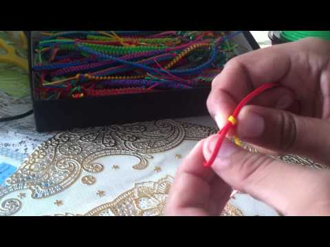 How to make a Butterfly Stitch Lanyard
