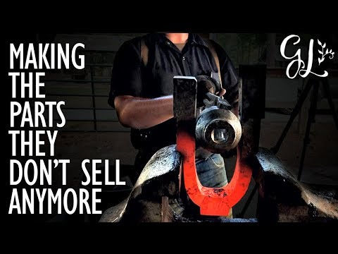 Antique POWER HAMMER Restoration: Making the Parts They Don't Sell Anymore!!
