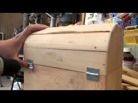 Making a treasure chest for my grand daughter Part 2