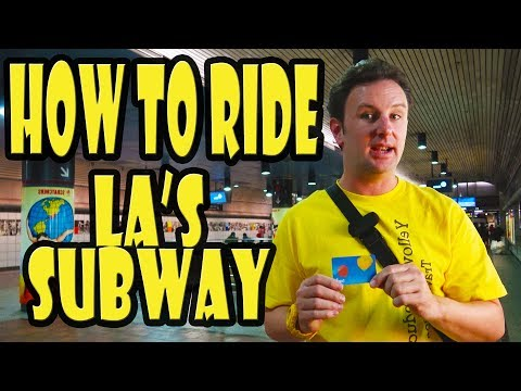 How to Ride the Subway in Los Angeles