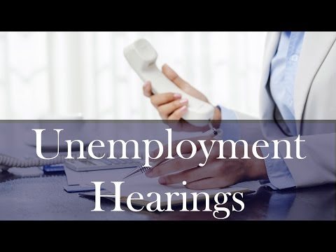 Tips and Overview for Ohio Unemployment Hearings