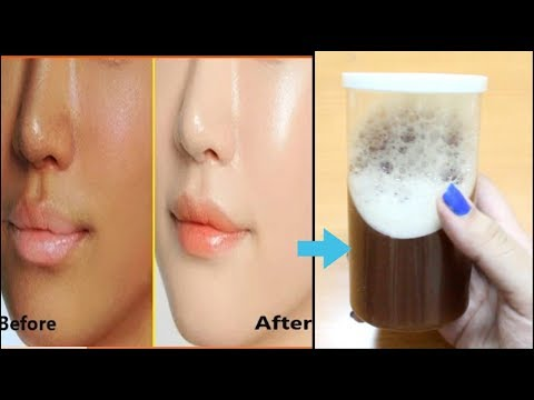 SKIN WHITENING FACE WASH at Home in RS.30| Skin lightening | Get Fair Glowing skin :)