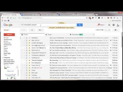 How to Create a Folder in Gmail