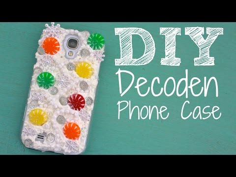 Easy & Cute DIY Decoden Cell Phone Case
