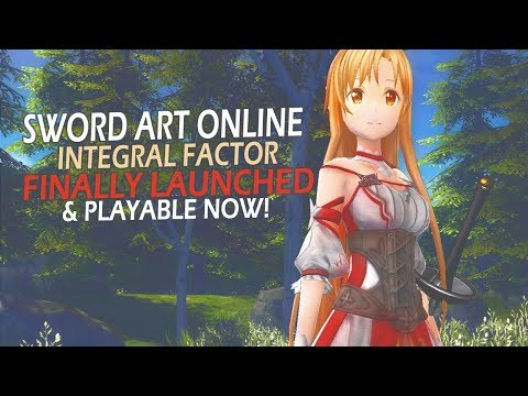 The Anime MMORPG Sword Art Online Integral Factor Has Finally Launched & Playable Now
