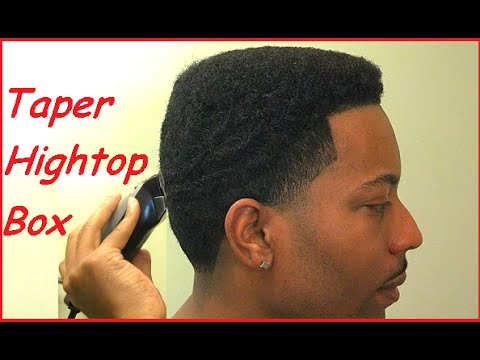 How To Cut a Hightop Box Taper Fade Blowout