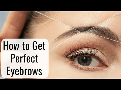 How To Get Perfect Eyebrows - INSTANT Face Hair Removal | Anaysa