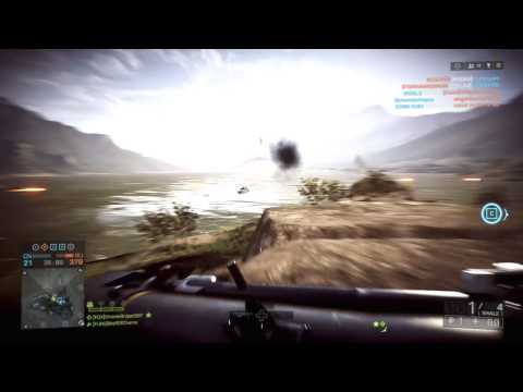 Battlefield 4: Long Range SMAW Destroys Helicopter!