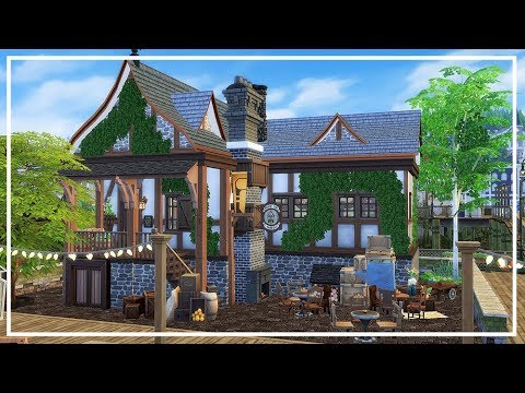 SIMS 4 MEDIEVAL TAVERN 💜 Speed Build + Download