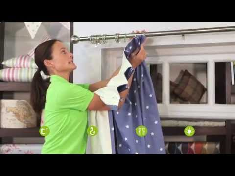 Hanging your Pinch Pleat Curtains - Curtains Made For Free