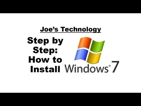 Windows Step by Step: How to Install Windows 7 Home Premium OEM