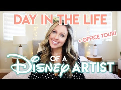 DAY IN THE LIFE OF A DISNEY ARTIST