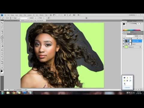 Cutting Hair using Dis-Saturation method - PART 1