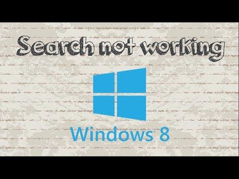 Fix and Repair broken Windows Search in Windows 8 / 8.1