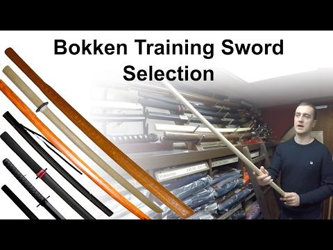 Bokken Training Sword Selection For Sale at Enso Martial Arts Shop