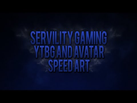 ServilityGaming Background and Avatar - Speed Art
