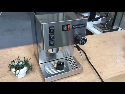 Rancilio Silvia Demo Video after 3 way Valve Replacement #1095