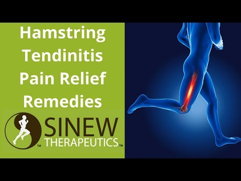 Hamstring Tendinitis Pain Relief Remedies