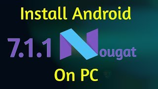 Dual Boot Phoenix OS [Android 7 1 1] and Windows 10 - PakVim net HD
