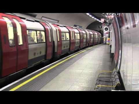 London UnderGround Euston station