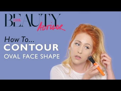 How To Contour For An Oval Face Shape | Tutorial | Look Magazine