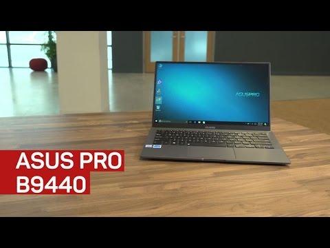 Asus Pro B9440 laptop review