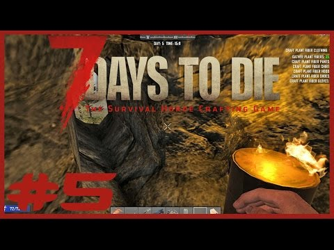 Data Play's - 7 Days to Die #5 - Hobbit Hole!