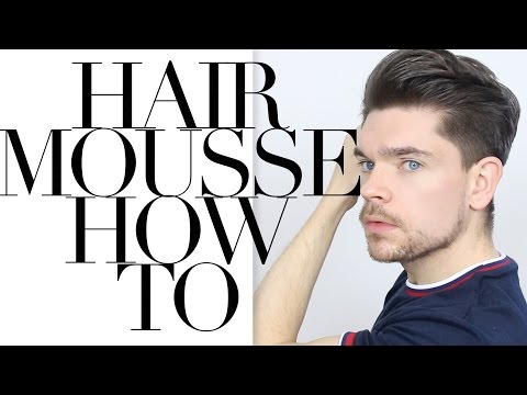 How To Use Hair Mousse