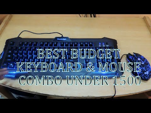 Cosmic Byte Gaming Keyboard & Mouse Combo | Unboxing | Budget Gaming Keyboard & Mouse | With Light