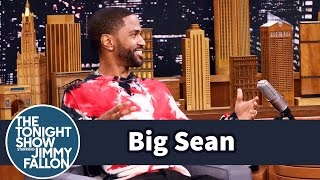 Big Sean Recalls His First Trip to SNL with Kanye West